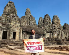 Cambodian New Year 2020 with Mimaki